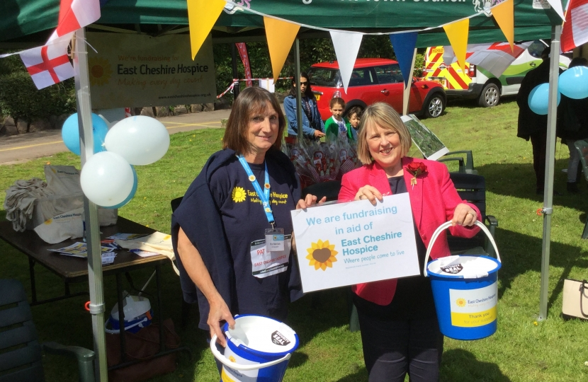 Fundraising for East Cheshire Hospice