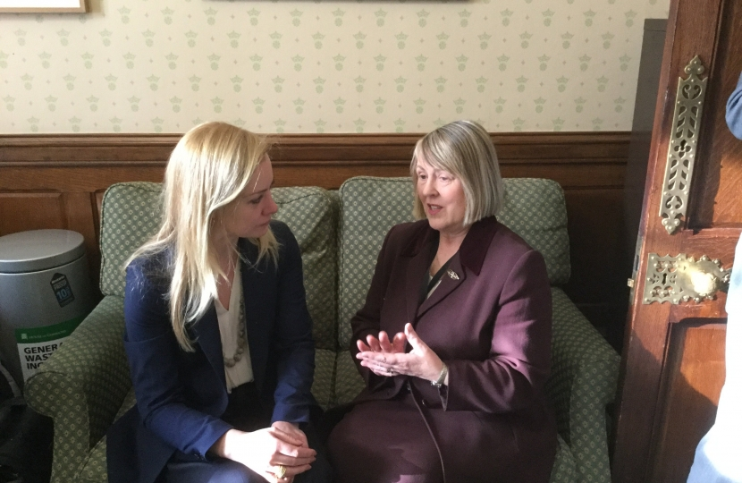 Fiona Bruce MP meeting with Health Minister Nicola Blackwood MP