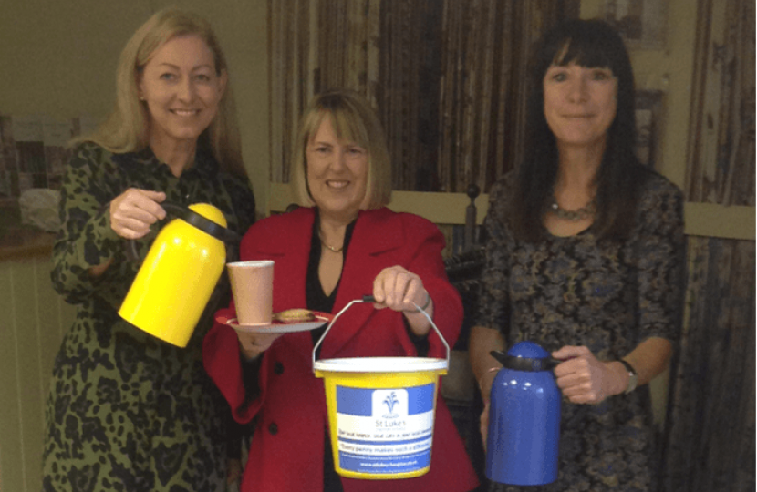 Fundraising for St Luke's Hospice with Jennie Edwards