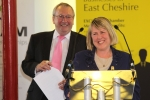 Fiona Bruce MP welcomes fall in unemployment
