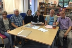 Meeting Parish Councillors