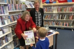 Fiona at Congleton Library