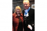 Fiona with High Sheriff for Cheshire